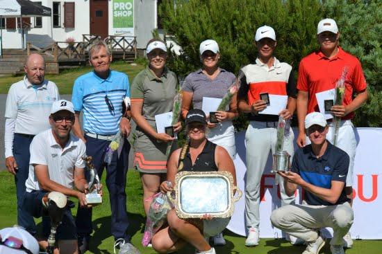 Golfin suomenmestarit kruunattiin Vaasassa